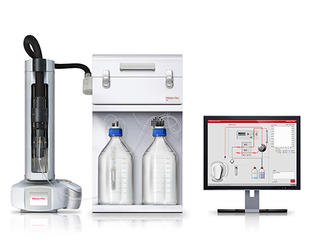 intrinsic viscostiy analyzer used for quality control in production plants of polymers