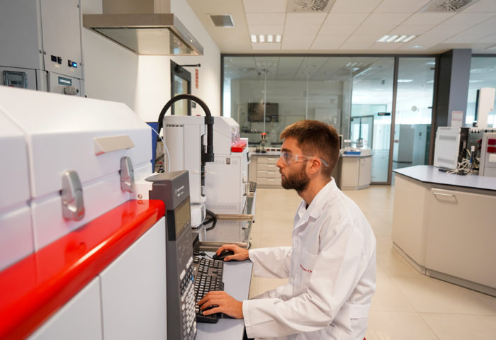 polymer char instrument user in the laboratory