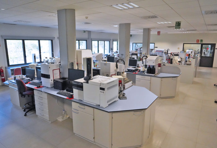 a complete view of the polyolefin characterization laboratory in valencia