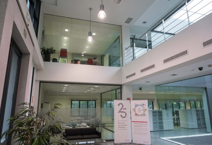 polymer char interior offices