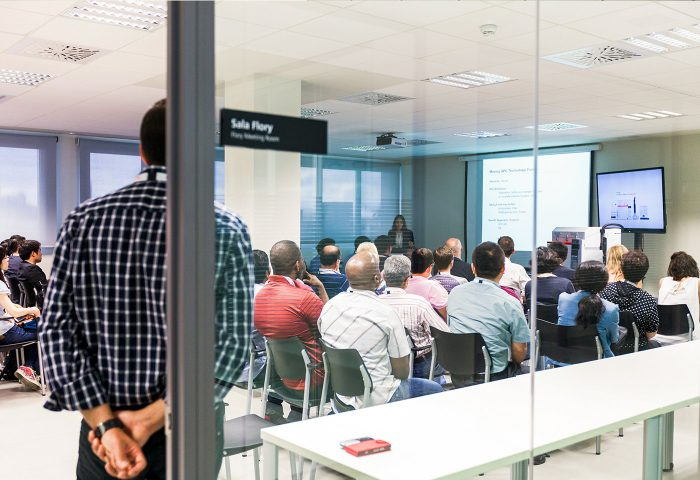 product launch at polymer char central offices